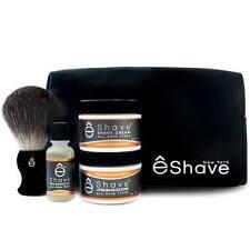 eShave Orange Sandalwood Start Up Shaving Kit (OS-STARTER-KIT)