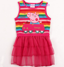 NEW with tags BNWT girls peppa pig rainbow pink tunic size 2