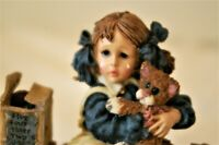 """Jamie & Thomasina… The Last One"" Boyds Yesterdays Child #3530, Perfect! w/Box"