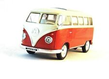1963 VOLKSWAGEN T1 BUS ,METALLIC ORANGE WELLY 1:32 DIECAST CAR COLLECTORS MODEL