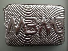 Marc By Marc Jacobs Small Clutch Accessories Case - NWT  Silver Metallic