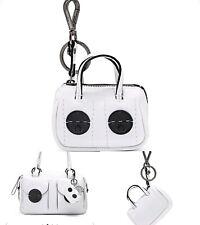 ❤️❤️❤️ Rare Mini Turnlock Handbag Keychain Keyring + Mimco Dust Bag