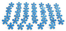 MASONIC SET OF 40 FLOWER FORGET ME NOT 11MM ENAMEL LAPEL PIN BADGES
