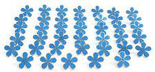 Masonic Set Of 40 Flower Forget Me Not 15mm Enamel Lapel Pin Badges