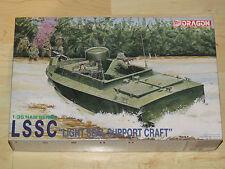 Dragon 1/35 'Nam' Series Light Seal Support Craft LSSC w/6 Navy Seal Figures NIB