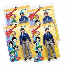 The Monkees 12 Inch Mego Style Action Figures: Blue Band Outfit: Set of all 4