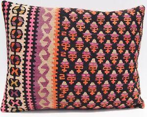 "24""x18"" Home Living Kurdish kilim pillow covers Handmade kilim vintage area rugs"