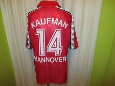 Hannover 96 Original Spieler/Matchworn Trikot + Nr.14 Kaufman + Signiert Gr.XL