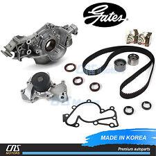 Gates HTD Timing Belt Kit Water Pump Oil Pump for 99-10 Hyundai Kia 2.5L 2.7L V6