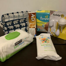 Welcome New Baby - Baby Boy Shower Gift Basket