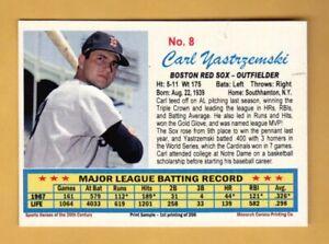 CARL YASTRZEMSKI '67 Boston Red Sox / 20th Century series #8 / NM+ free shipping
