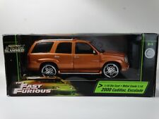 Ertl American Muscle Fast And Furious 2000 Cadillac Escalade 1:18 Scale Diecast