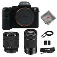 Sony A7 II + Sony 28-70mm f/3.5-5.6 FE + 55-210mm f/4.5-6.3 Lens