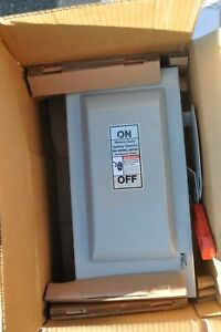 Siemens HF362N Heavy Duty Fusible Safety Switch 3 POLE 60A 600VAC 250VDC NEW