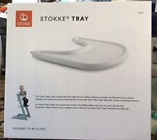 Stokke Tray for Tripp Trapp - Accessory for High Chair - Baby Set, White