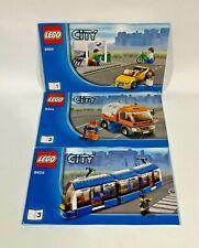 LEGO City 8404 Public Transport Station 100% Complete   Instructions