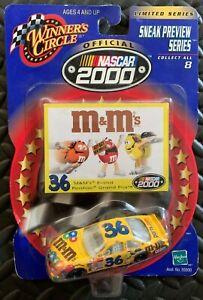 Winner's Circle 2000 Ken Schrader #36 M&M's NASCAR 1:64 Die Cast - New!!