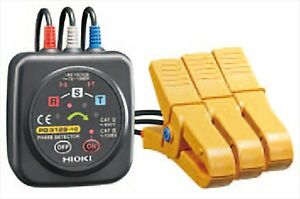 HIOKI, Phase Detector, non-contact type, for AC 70V to 1000V, PD3129 From japan