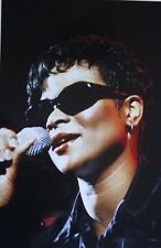 Photo of Gabrielle in concert original mounted 12 x 8 inches by Mel Longhurst