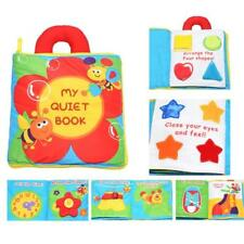 My-Quiet-Book-Baby-Soft-cute-Cloth-Book-Early-Learn-Education-Development for US