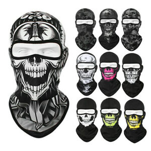 3D Skull Outdoor Windproof Full Face Hat Ski Motorcycle Cycling Balaclava Mask
