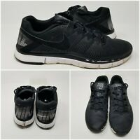 Nike Free 3.0 Black Low Athletic Cross Running Shoes Sneakers Mens Size 14