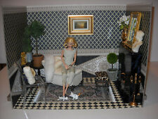 Noble Neo-Classical, Greco-Roman Diorama Rooms; 1/6 Antiquities & Architecture