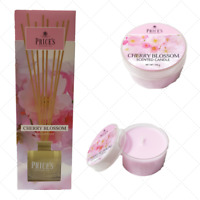 Scented Reed Diffuser,Candle,Price CHERRY BLOSSOM,Delicate Flower Room Fragrance