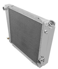 Champion Racing 3 Row Alum Radiator For 1966 - 77 Ford Bronco w/Chevy Eng