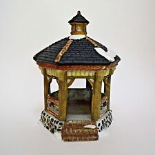 Dickens Collectibles Park Gazebo Porcelain Town Series No Box 1995