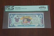 Disney Dollar 1993 $1 Mickey: Mickey's 65th 65PPQ