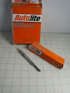 3pk Autolite 1111 Diesel Glow Plugs for Ford Econoline Super Duty Excursion NEW