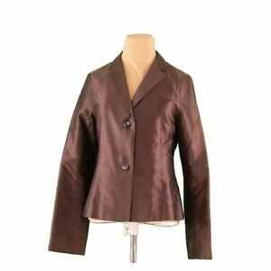 JIL SANDER Coats Jackets Brown Woman Authentic Used I483