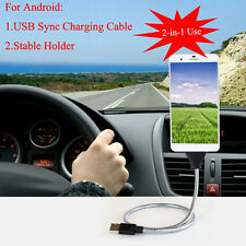 USB Sync Cable Stable Holder Charger To Keep Your Phone Charged! For Android