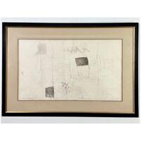 Hideo Hagiwara - Fairyland No. 5 Woodblock Print #3/50 (1966, Signed)
