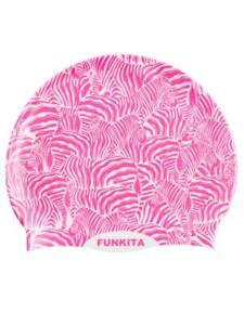 Funkita Silicon Swim Cap - Painted Pink