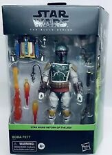 """Star Wars Black Series Deluxe BOBA FETT  6"""" Action Figure - Factory Sealed Box"""