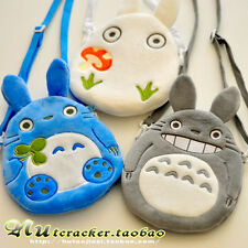Totoro Plush Phone Bag Coin Pouch Card Wallet Pencil Case Cosmetic Bag and Strap