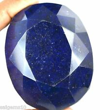 Blue Sapphire Loose Gemstone 1773 Ct  Natural Oval African