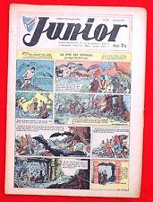 Coquelicot journal du JUNIOR n°24. Juillet 1947. SPE. Pellos, Tarzan...Bel état