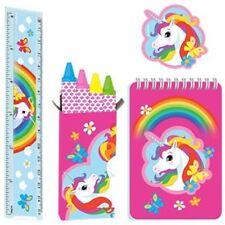 Unicornio Fiesta-Unicornio estacionario favor Set