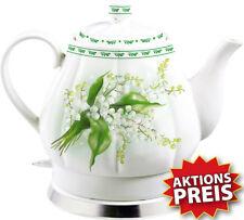 Wasserkocher 1,7 Retro Vintage Keramik Porzellan Teekanne Чайник Кипятильник Чай