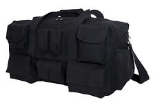 Tactical Canvas Gear Bag Back Equipment Pack With Pockets Rothco 2483