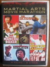 MARTIAL ARTS MOVIE MARATHON (2014, 4-Films, 2-DVD Set) SHOUT FACTORY: BRAND NEW!