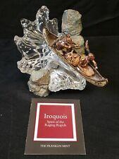 Rare Franklin Mint American Iroquois Spirit of the Raging Rapids Robert Murphy