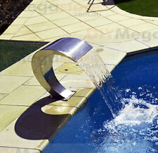 Water Feature Stainless Steel WaterFall Feature suits Swimming Pool - MIRROR