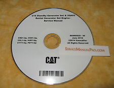 SENR9925 Cat C15 XQ400 Generator Engine Factory Service Repair Shop Manual OEM