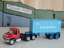 BOLEY INTERNATIONAL 7600 TRACTOR WITH ATHEARN 20ft CONTAINER AND CHASSIS  #5