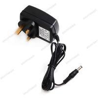 UK Plug Power Supply Adapter Transformer AC100-240V to DC12V 2A for CCTV LED