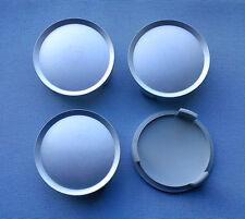 (K75) 4x silber mit kr. Nabenkappen Felgendeckel 74,5 / 69,5mm für Mercedes, OZ,